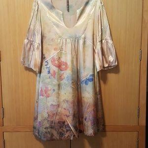 Mushka by Sienna Rose Dresses - Sexy Satin Midi Dress